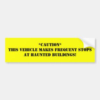 ** El este vehículo marca paradas frecuentes en H… Pegatina Para Auto