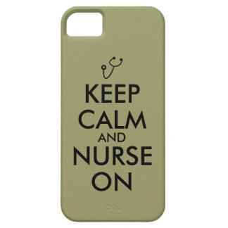 El estetoscopio del regalo de la enfermera guarda iPhone 5 funda