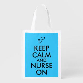 El estetoscopio del regalo de la enfermera guarda bolsa para la compra