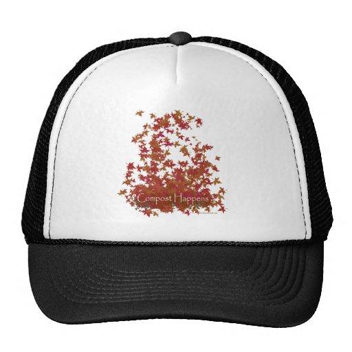 El estiércol vegetal sucede gorras