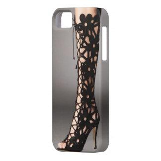 El estilete del cordón patea el caso del iPhone 5/ iPhone 5 Case-Mate Cárcasa