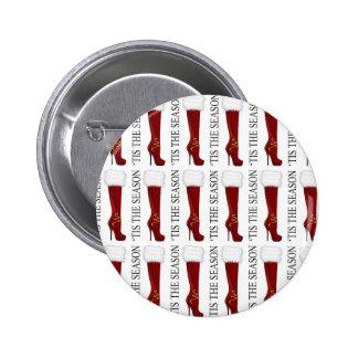El estilete del rojo de la estación de Tis Pin Redondo De 2 Pulgadas