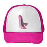 El estilete rosado calza arte gorra
