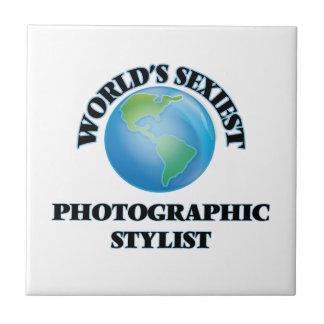 El estilista fotográfico más atractivo del mundo azulejos
