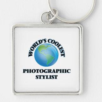 El estilista fotográfico más fresco del mundo llaveros personalizados