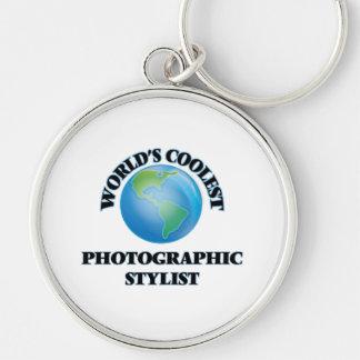 El estilista fotográfico más fresco del mundo llavero personalizado