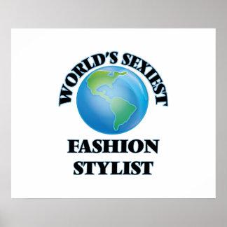 El estilista más atractivo de la moda del mundo poster