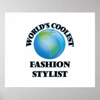 El estilista más fresco de la moda del mundo posters