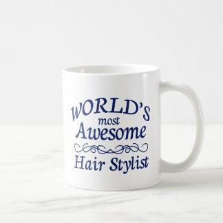 El estilista más impresionante del mundo taza de café