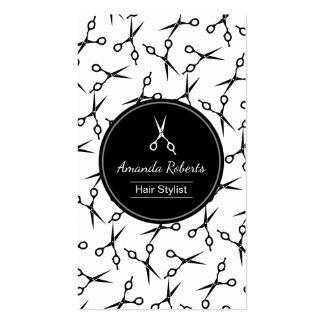 El estilista moderno Scissor la cita del modelo Tarjetas De Visita