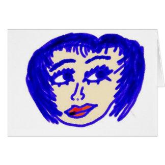 El estilista tarjeta de felicitación