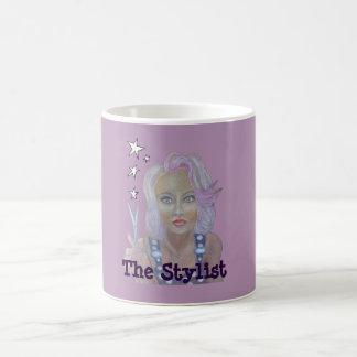 El estilista taza de café