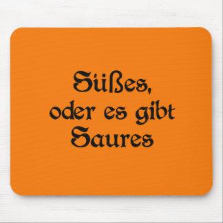 El estilo alemán de Halloween celebra Mousepads