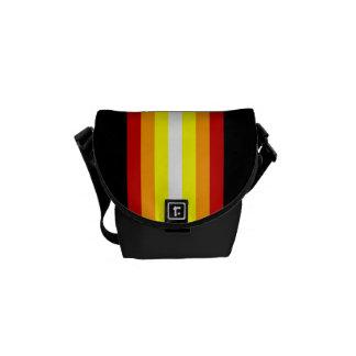 El estilo alinea bolsa de mensajero cero del carri bolsa messenger