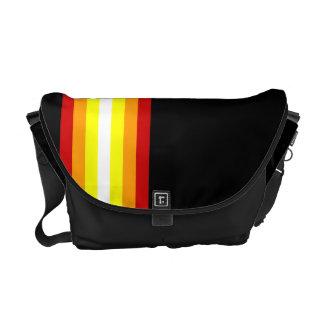 El estilo alinea la bolsa de mensajero cero del ca bolsas de mensajeria