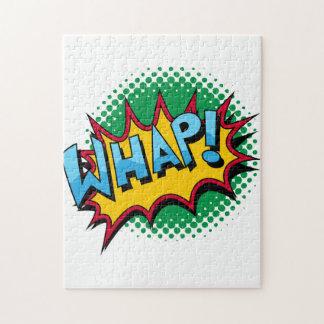 ¡El estilo cómico del arte pop Whap! Puzzles
