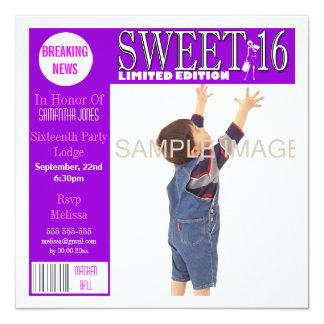 El estilo de la revista del dulce dieciséis comunicado
