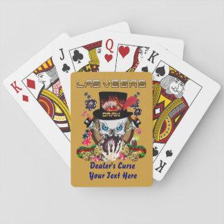 El estilo de Vegas fijó 1 visión sobre diseño Cartas De Póquer