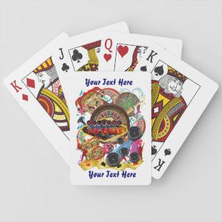 El estilo de Vegas fijó la visión 2 sobre diseño Barajas De Cartas