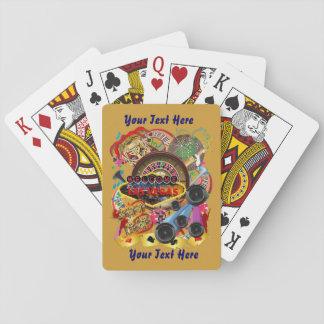 El estilo de Vegas fijó la visión 2 sobre diseño Baraja De Póquer