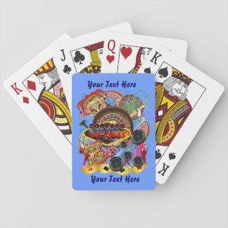 El estilo de Vegas fijó la visión 2 sobre diseño Baraja De Cartas