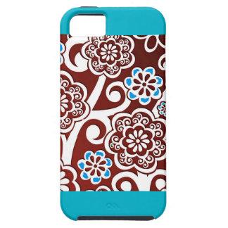 El estilo del batik inspiró para el iPhone 5/5S de iPhone 5 Case-Mate Cobertura