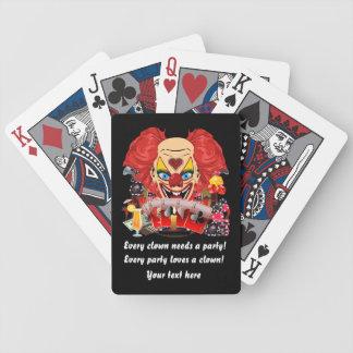 El estilo del casino de Vegas ve por favor notas Baraja