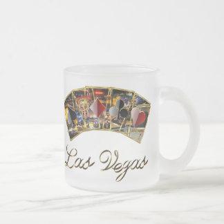 El estilo del casino de Vegas ve por favor notas Taza