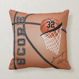 El estilo el | del baloncesto personaliza cojin