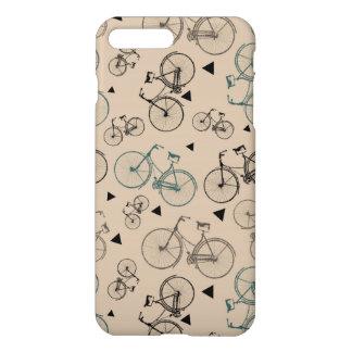 El estilo retro de moda monta en bicicleta el funda para iPhone 7 plus