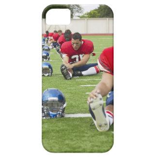 El estirar de los futbolistas funda para iPhone 5 barely there