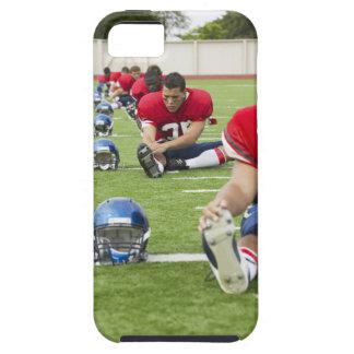 El estirar de los futbolistas iPhone 5 carcasa