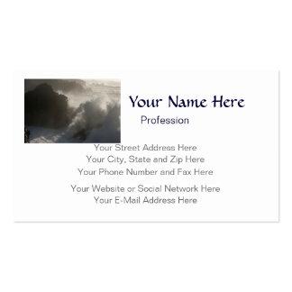 El estrellarse agita en el personalizable de tarjetas de visita