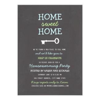 El estreno de una casa casero dulce casero invita comunicado