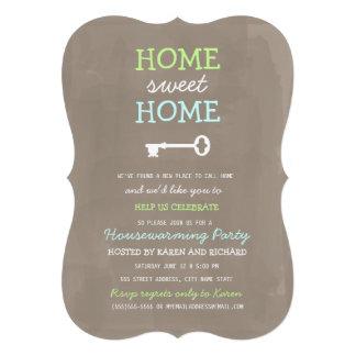 El estreno de una casa casero dulce casero invita  invitacion personalizada