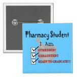 "¡El estudiante de la farmacia ""alista para graduar Pins"