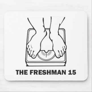 El estudiante de primer año 15 mousepad