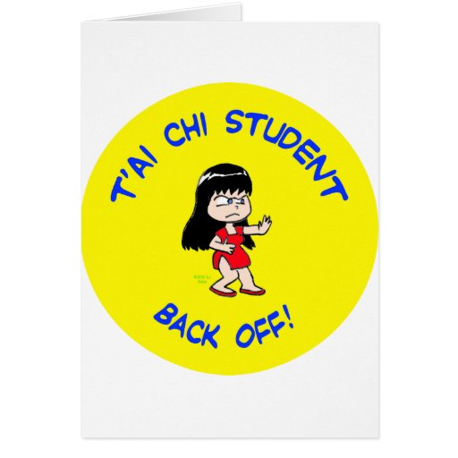 el estudiante del je del tai de la ji del t'ai ret tarjetas