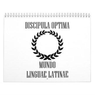 El estudiante latino más grande del mundo calendario