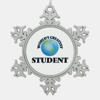 El estudiante más grande del mundo adornos