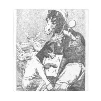 ¿El estudiante será más sabio? por Francisco Goya Bloc De Papel