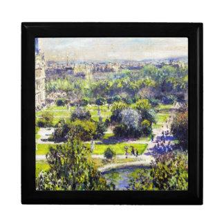 El estudio Claude Monet de Tuileries Caja De Joyas