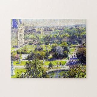 El estudio Claude Monet de Tuileries Puzzles Con Fotos