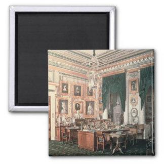 El estudio de Alejandro III en el palacio de Gatch Imán Cuadrado