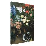 El estudio de flores impresiones en lienzo estiradas