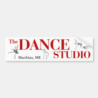 El estudio de la danza, pegatina para el parachoqu pegatina para auto
