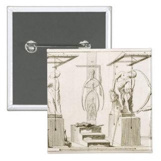 El estudio de un escultor, c.1800 (grabado) pins