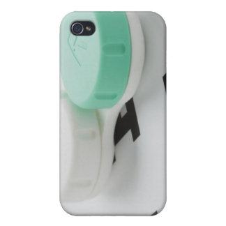 El estudio tiró de la caja de lente de contacto en iPhone 4 funda