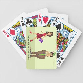 El etc. triste no lleva naipes bien barajas de cartas
