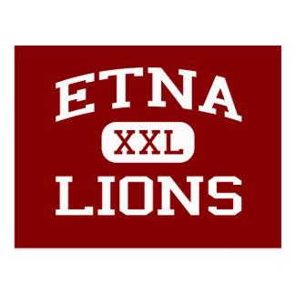 El Etna - leones - mayor - el Etna California Postal